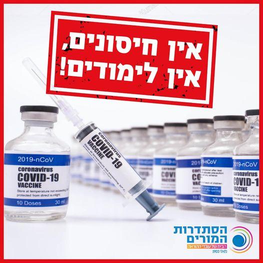 חיסון עובדי ההוראה